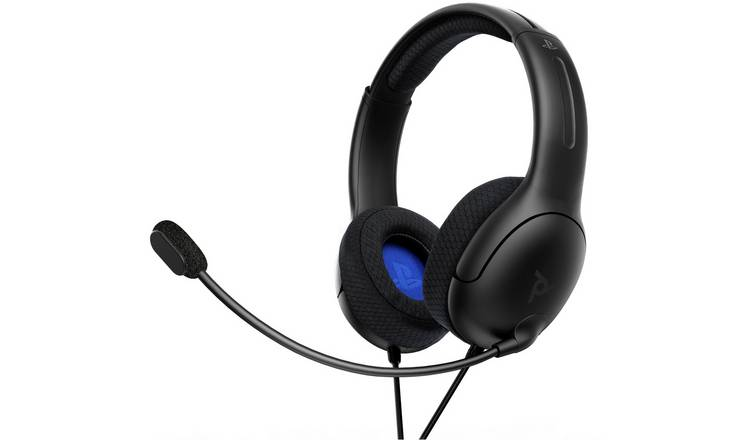 PDP Licensed LVL40 Stereo PS5, PS4 & PC Headset - Black