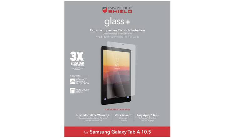 Zagg InvisibleShield Samsung Galaxy Tab A Screen Protector
