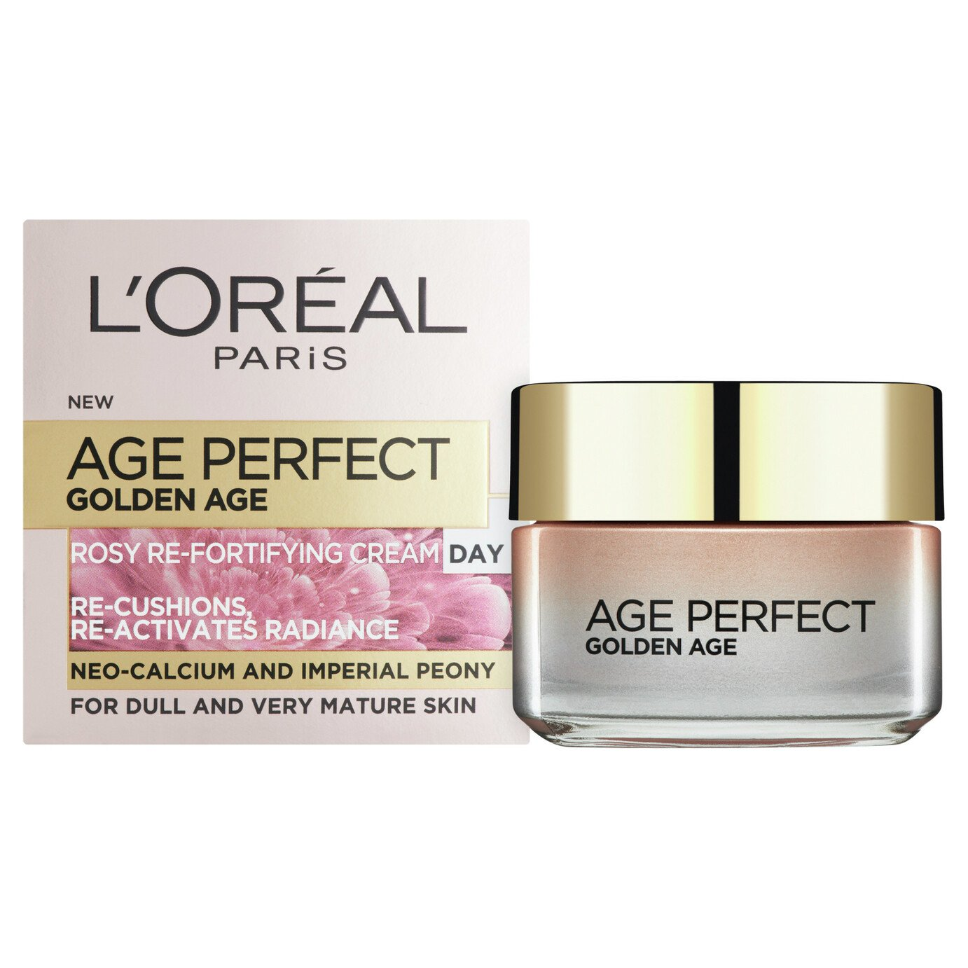 L'Oreal Paris Skin Age Perfect Rosy Day Cream - 50ml