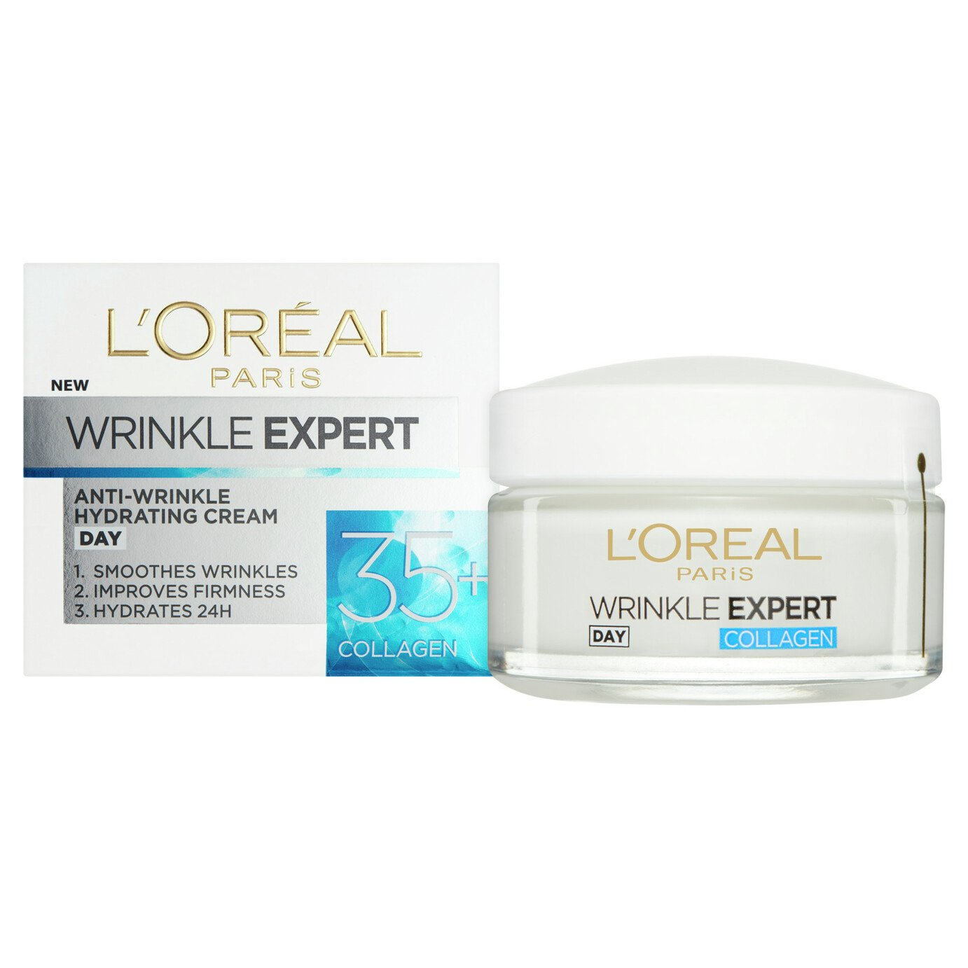 L'Oreal De Wrinkle Expert 35+ Day Cream - 50ml