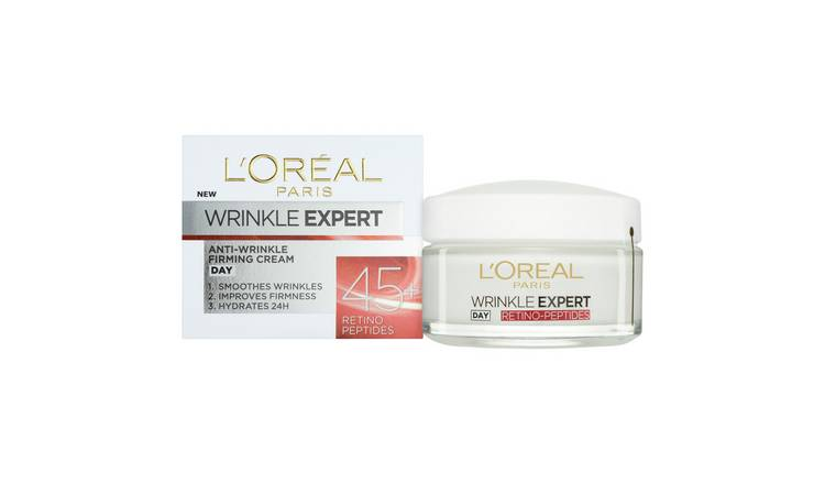 L'Oreal De Wrinkle Expert 45+ day Cream - 50ml