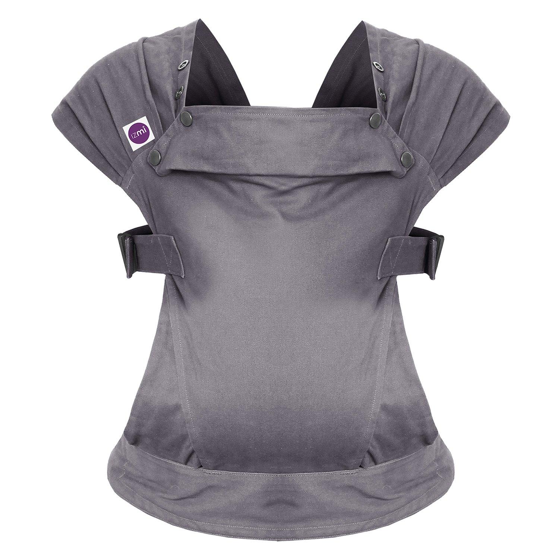 Izmi Baby Carrier - Cotton Mid Grey
