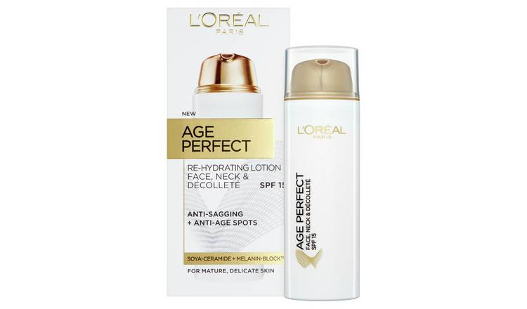 L'Oreal Paris Skin Age Perfect Face & Neck SPF15 Cream -50ml
