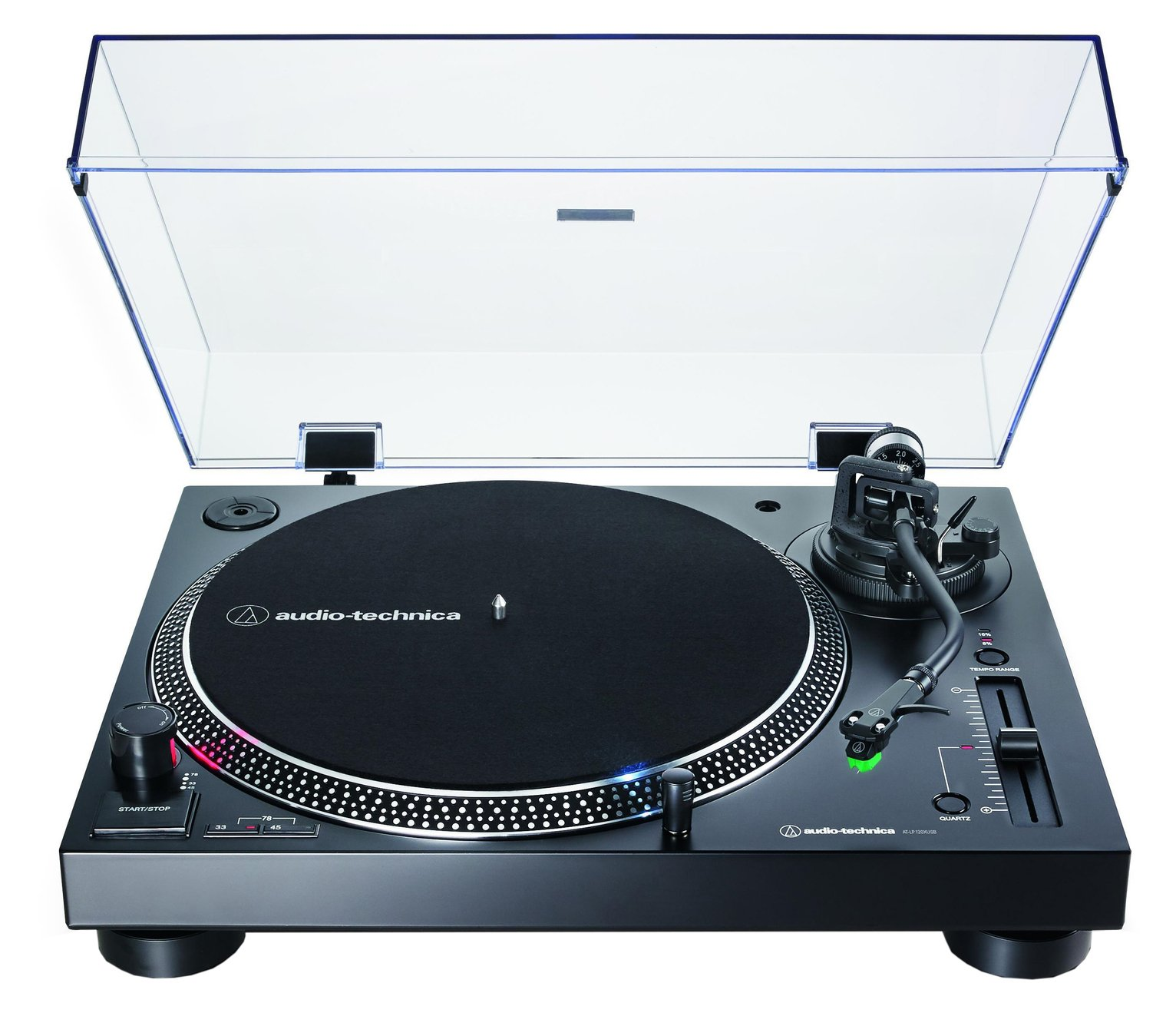 Audio-Technica AT-LP120XUSBBK Direct-Drive Turntable -Black
