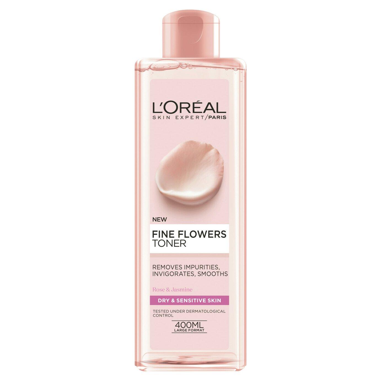 L'Oreal Paris Skin Fine Flowers Toner - 400ml