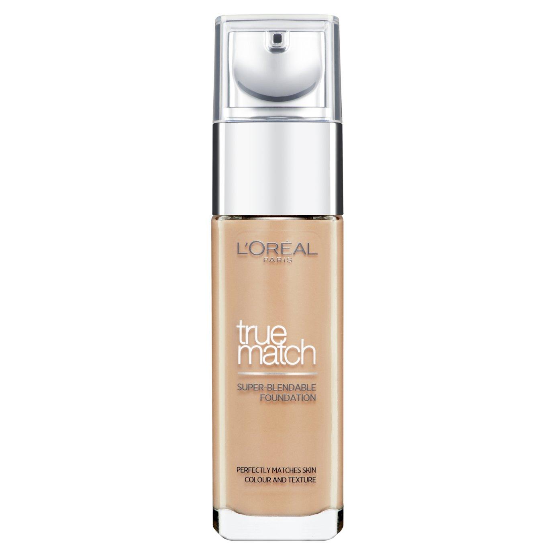 L'Oreal Paris True Match Foundation Golden Caramel - 30ml