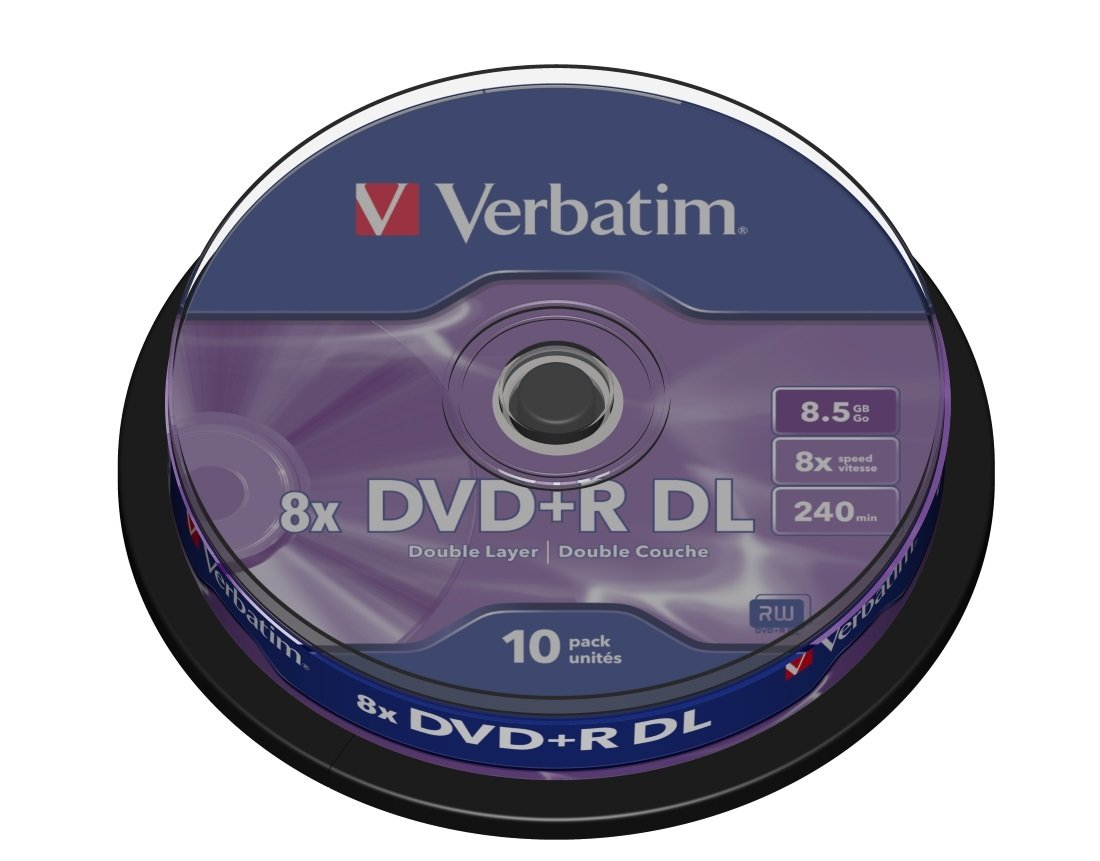 Verbatim DVD R 8x Speed - 10 Pack Spindle