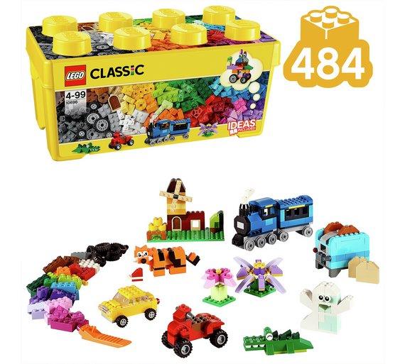 buy lego classic medium creative brick box building set 10696