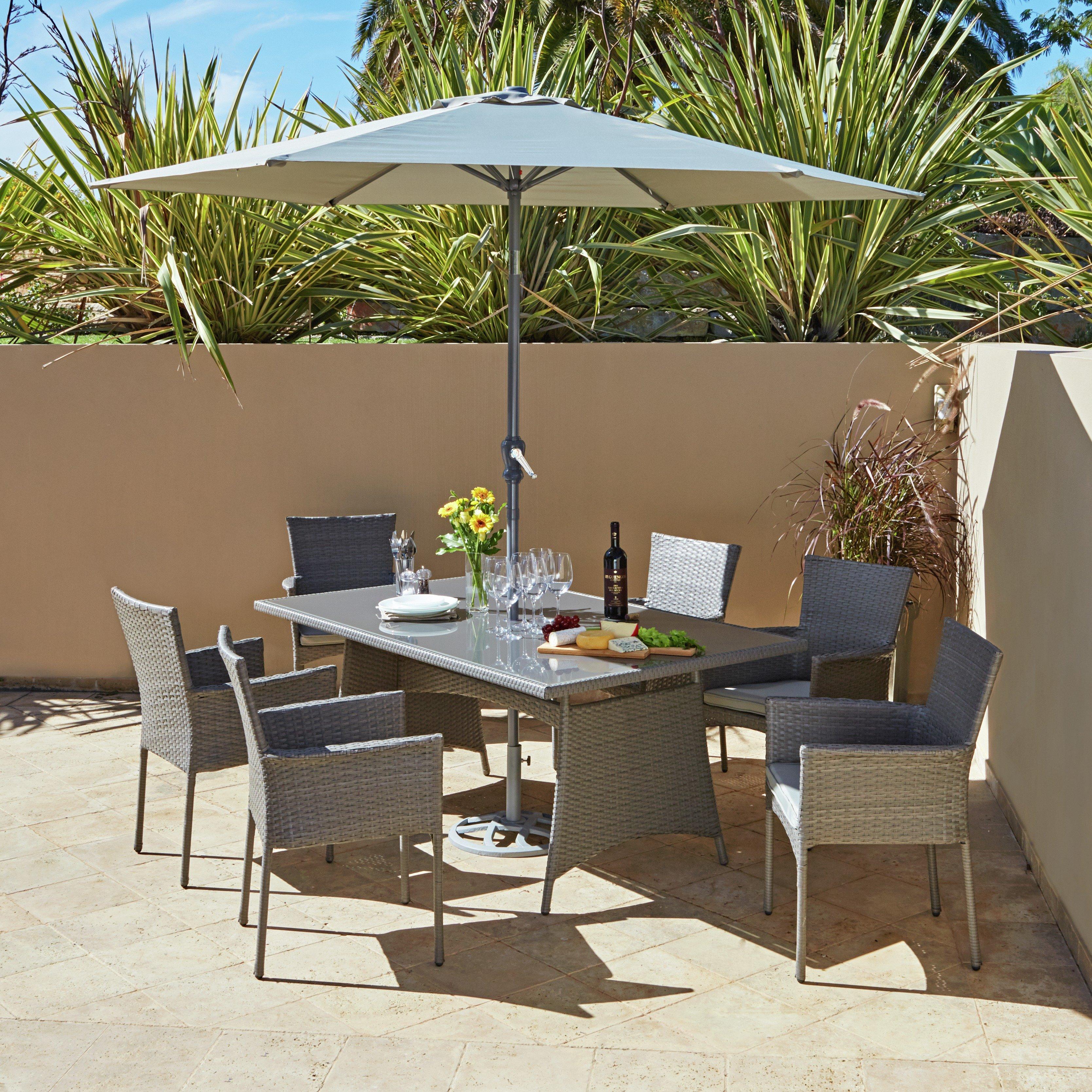 Rattan Garden Furniture 6 Seater 6 seater wooden garden furniture sets | pilotschoolbanyuwangi
