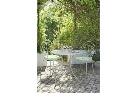 Image of the Heart of House Jasmin 2 Seater Bistro With Cushions.