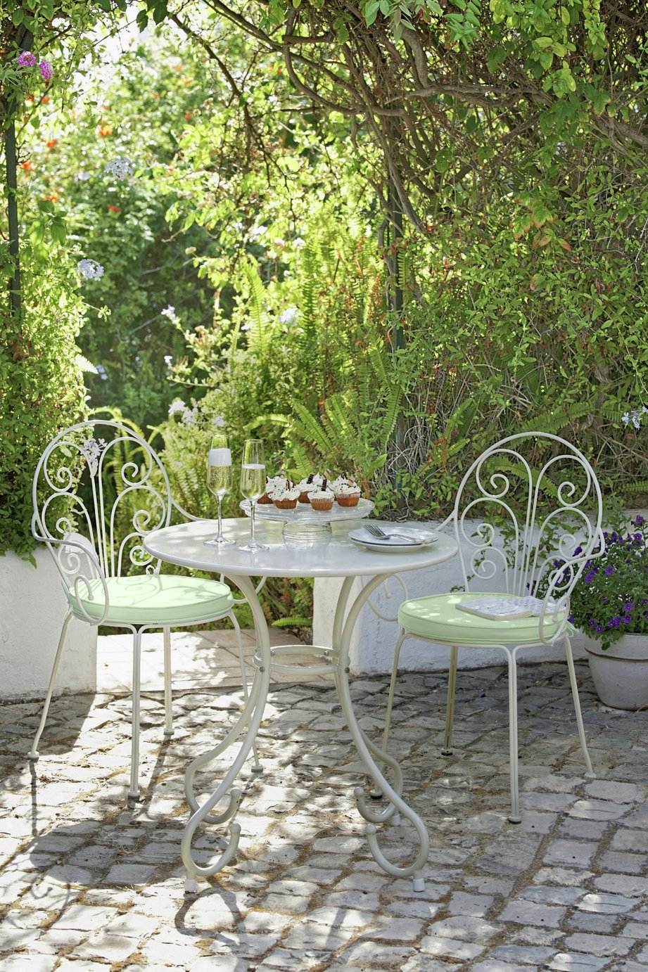 Garden Furniture Argos buy heart of house jasmin 2 seater bistro with cushions at argos