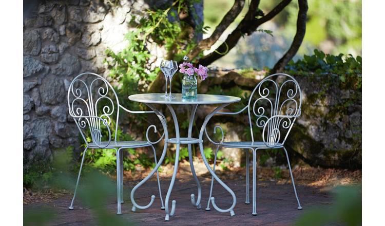 Garden Market Place Furniture Cushion for 2 Seater Metal Garden Bench-Lime Green 95 X 45 X 35