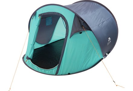 Image of the Trespass 3 Man 1 Room Festival Pop Up Tent.