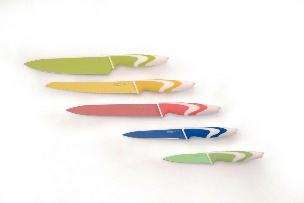 BergHOFF 5 Piece Ceramic Coated Knives.