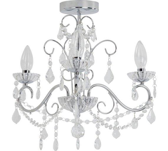 Buy heart of house spetses 3 light bathroom chandelier chrome click to zoom aloadofball Gallery