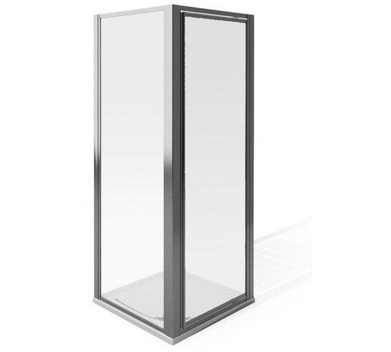 buy aqua 4 pivot and side panel 1850x900mm enclosure. Black Bedroom Furniture Sets. Home Design Ideas