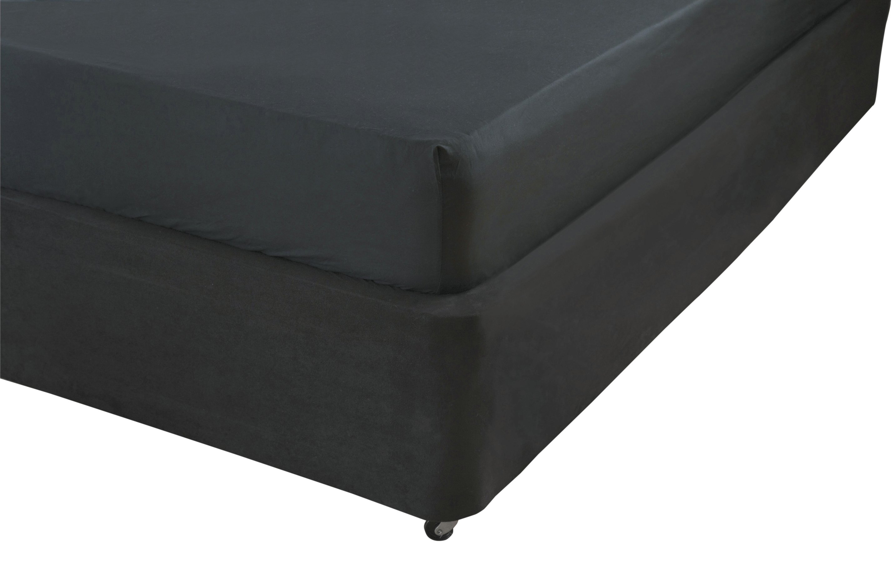 Image of Belledorm - Black Base Wrap 15 Inch - Kingsize