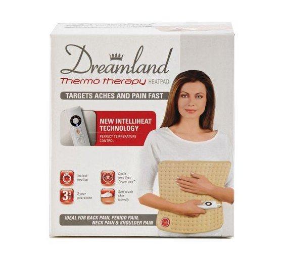 e4244369c0 NEW Dreamland Intelliheat Heat Pad Ground Breaking Intelliheat Technology UK
