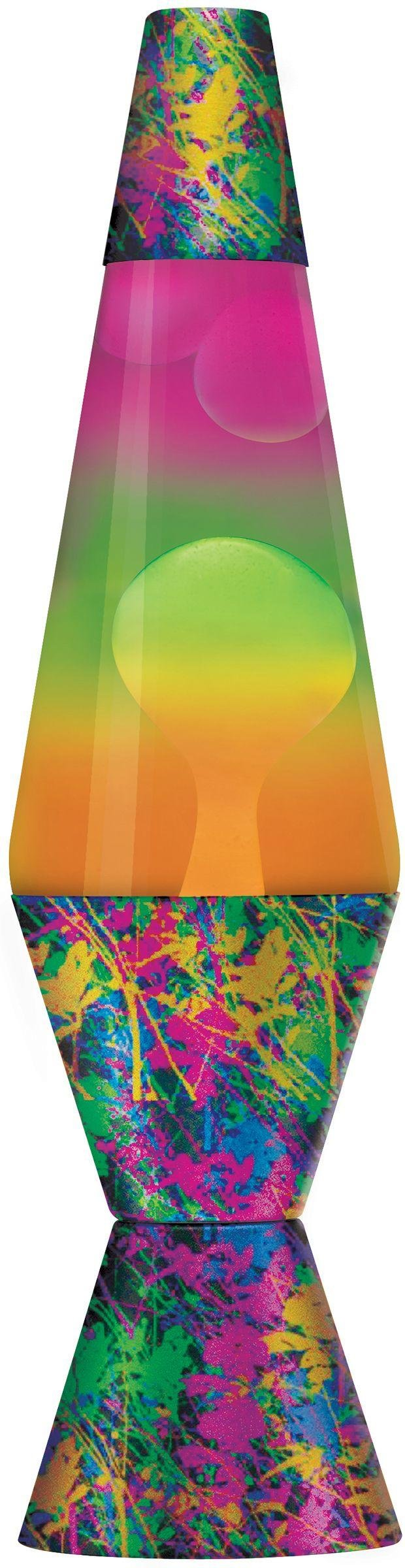Lava 14.5in ColourMax Paintball Lava Lamp - White & Clear