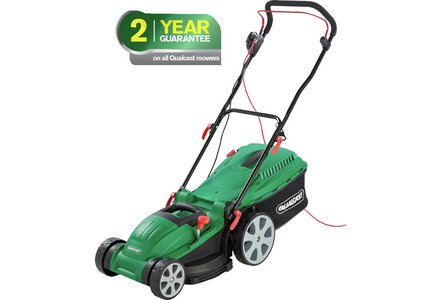 Image of the Qualcast Corded Rotary Lawnmower - 1800W.