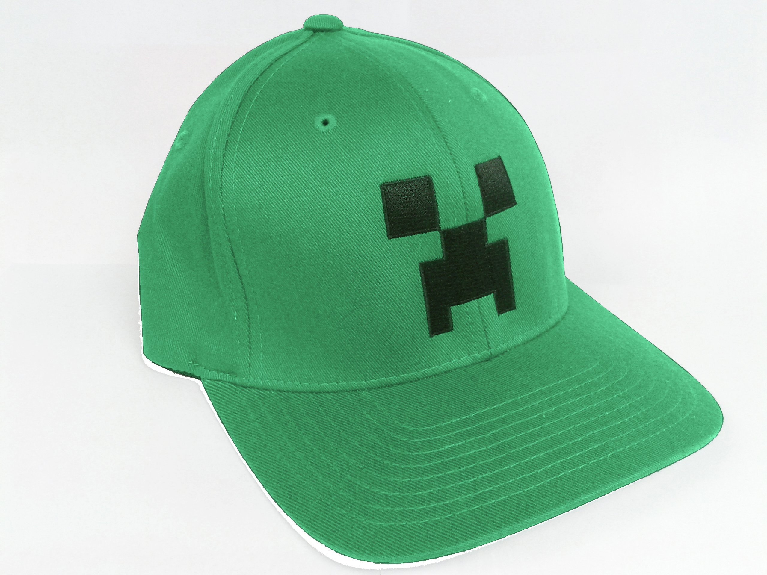 Image of Minecraft - Boys Green Cap - 11-13 Years