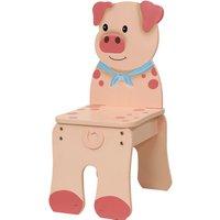 Fantasy Fields Happy Farm Chair - Pig.