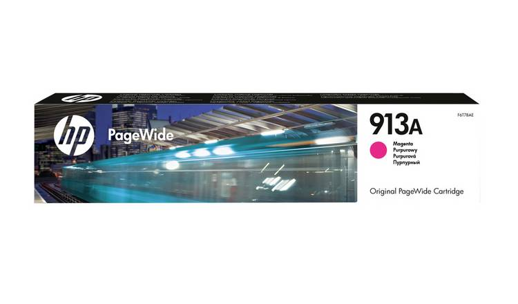 HP 913A PageWide Original Ink Cartridge - Magenta