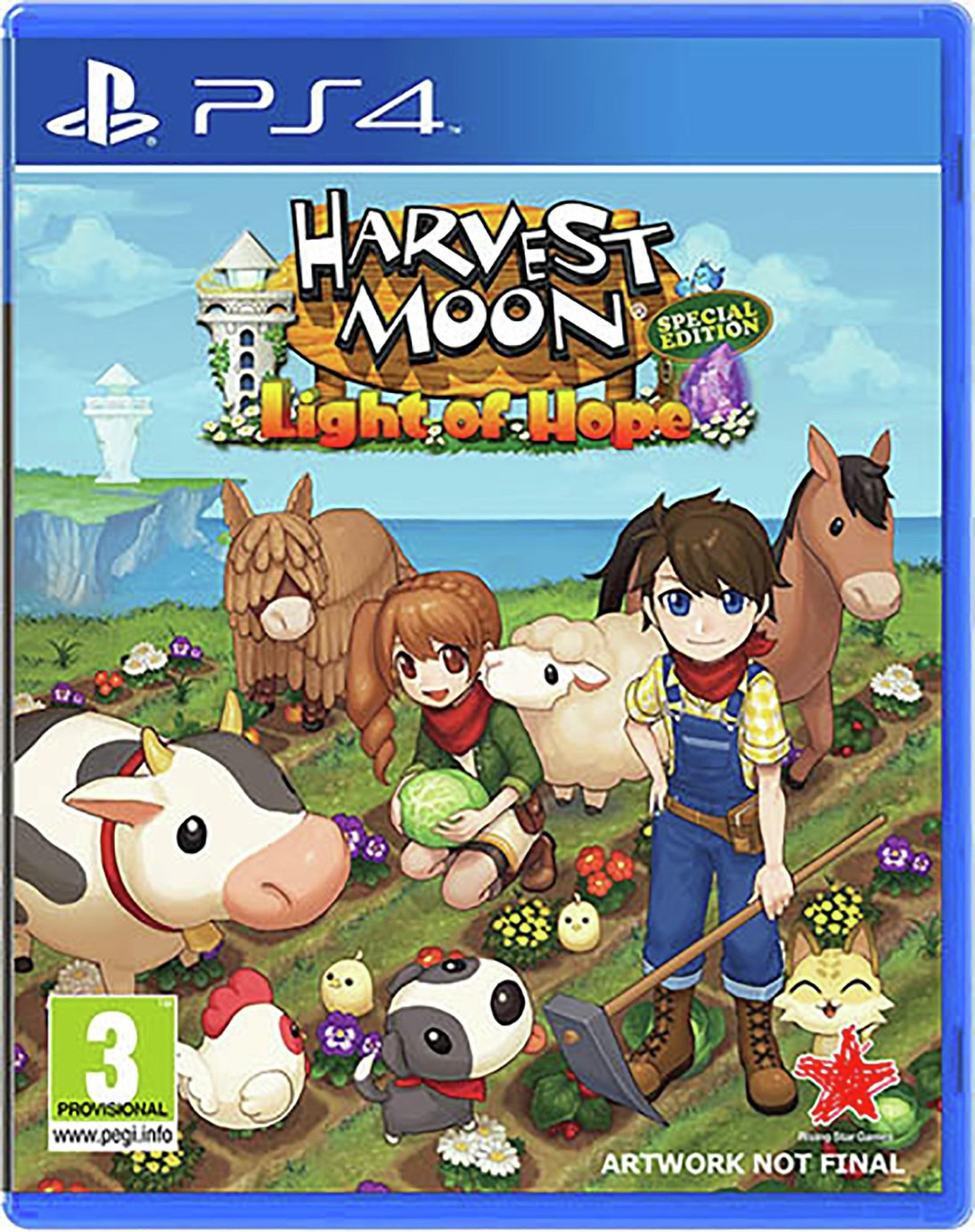 Harvest Moon: Light of Hope Complete Edn PS4 Pre-Order Game