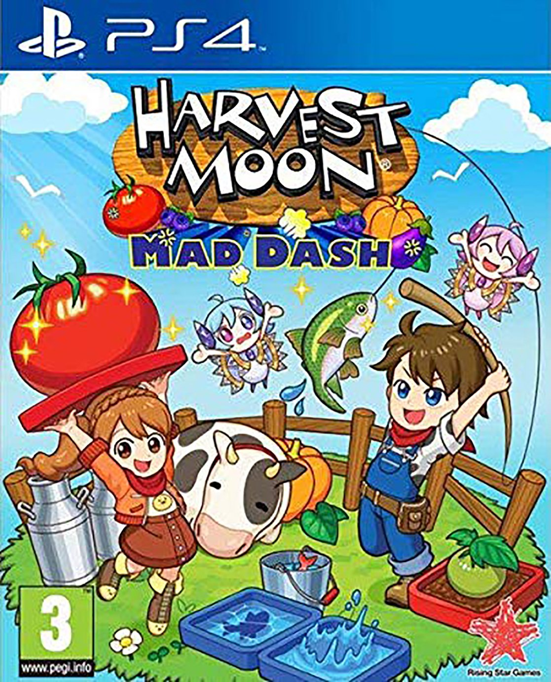 Harvest Moon: Mad Dash PS4 Pre-Order Game