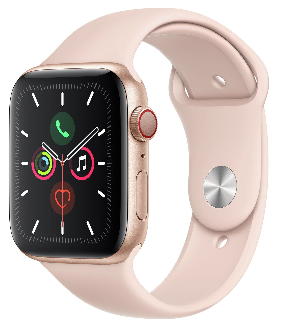 Apple Watch S5 Cellular 44mm Gold Alu / Pink Band