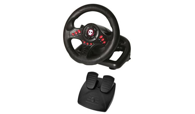 Numskull NS101 Steering Wheel & Pedals for PS4, Xbox, PC