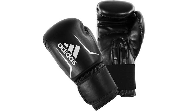 Adidas Speed 50 12oz Boxing Gloves - Black and Red