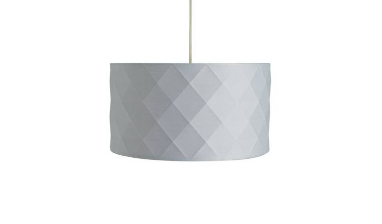 Argos Home Skandi Geometric Shade - Grey