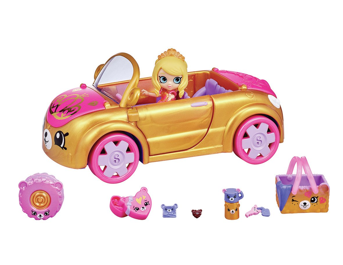 Happy Places Shopkins Royal Car Playset