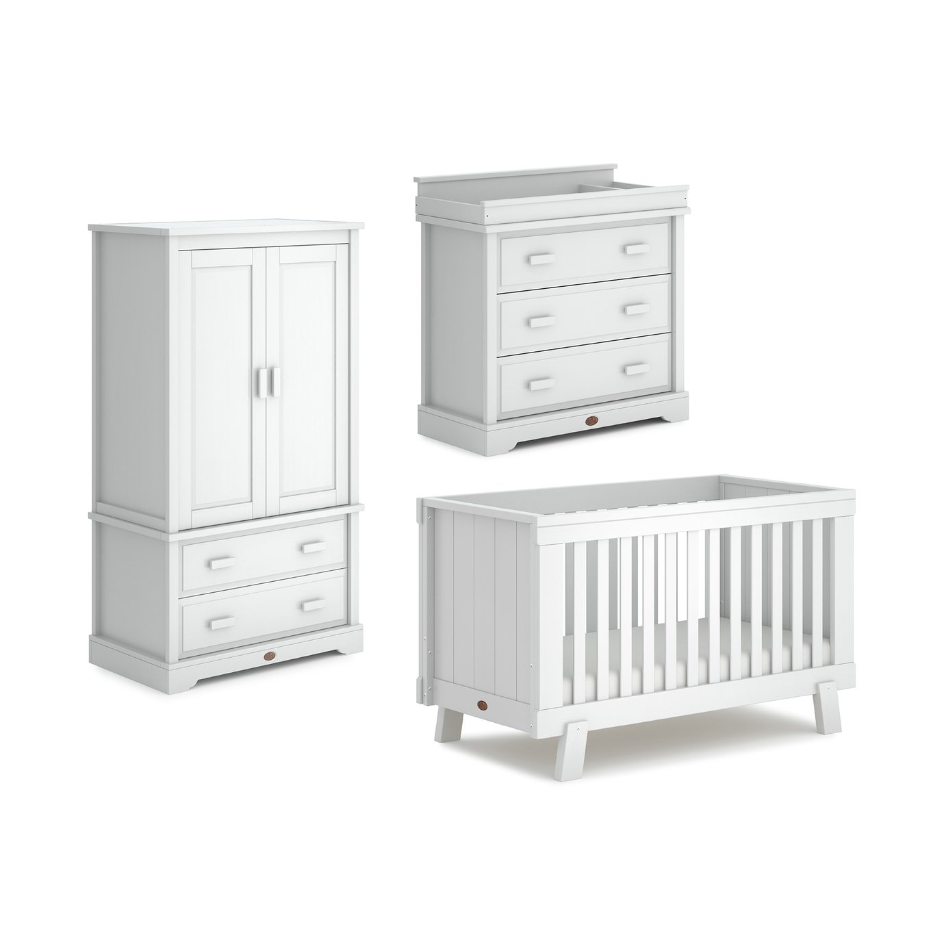 Boori Lucia 3 Piece Room Set - White