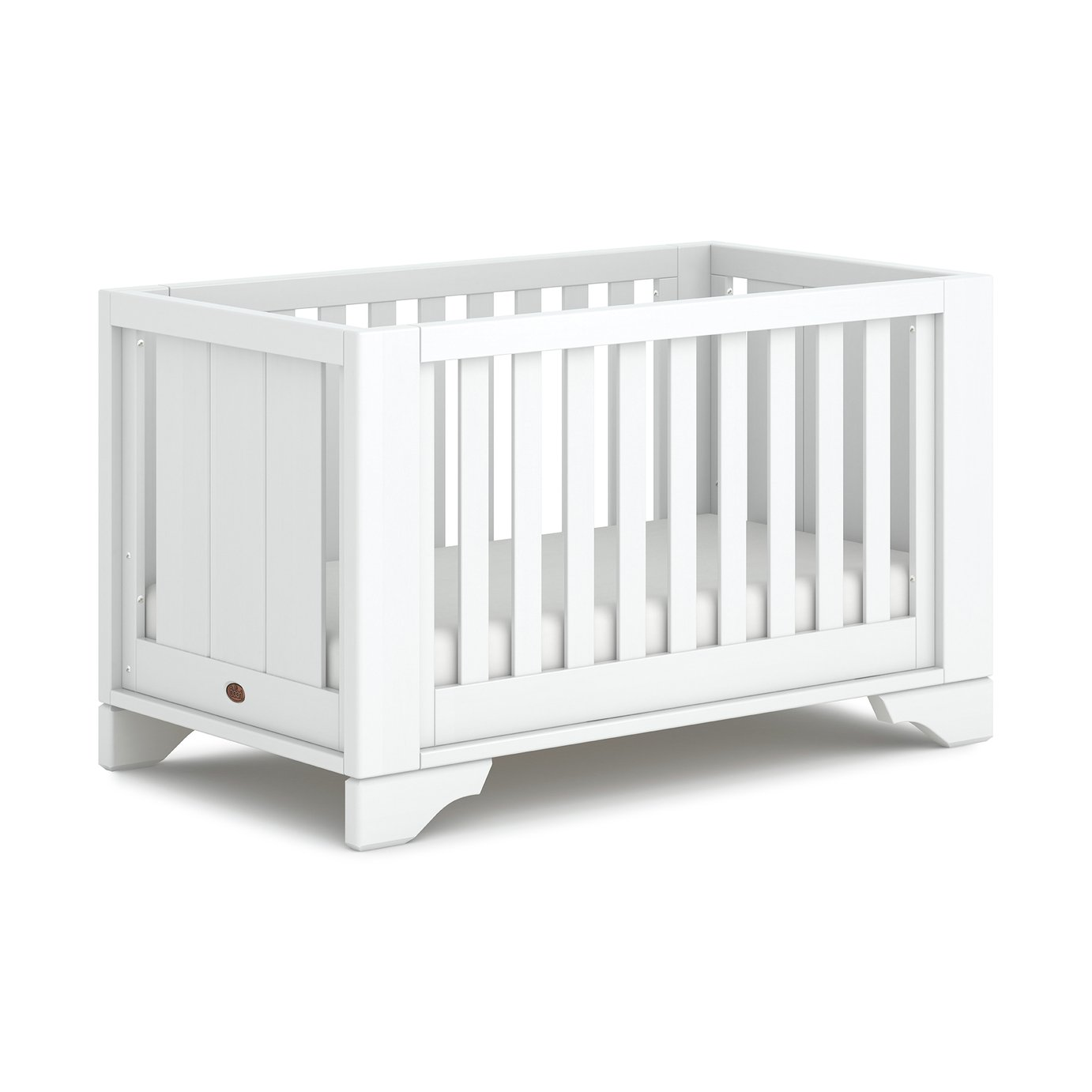 Boori Eton Expandable Cot Bed - White