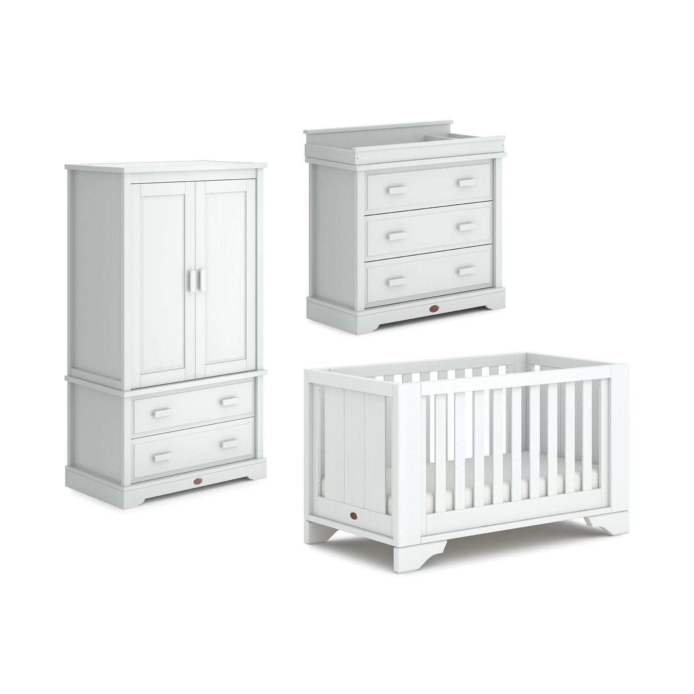 Boori Eton Expandable 3 Piece Set - White