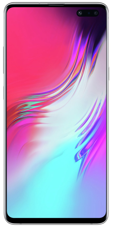 SIM Free Samung Galaxy S10 5G 256 Mobile Phone - Silver