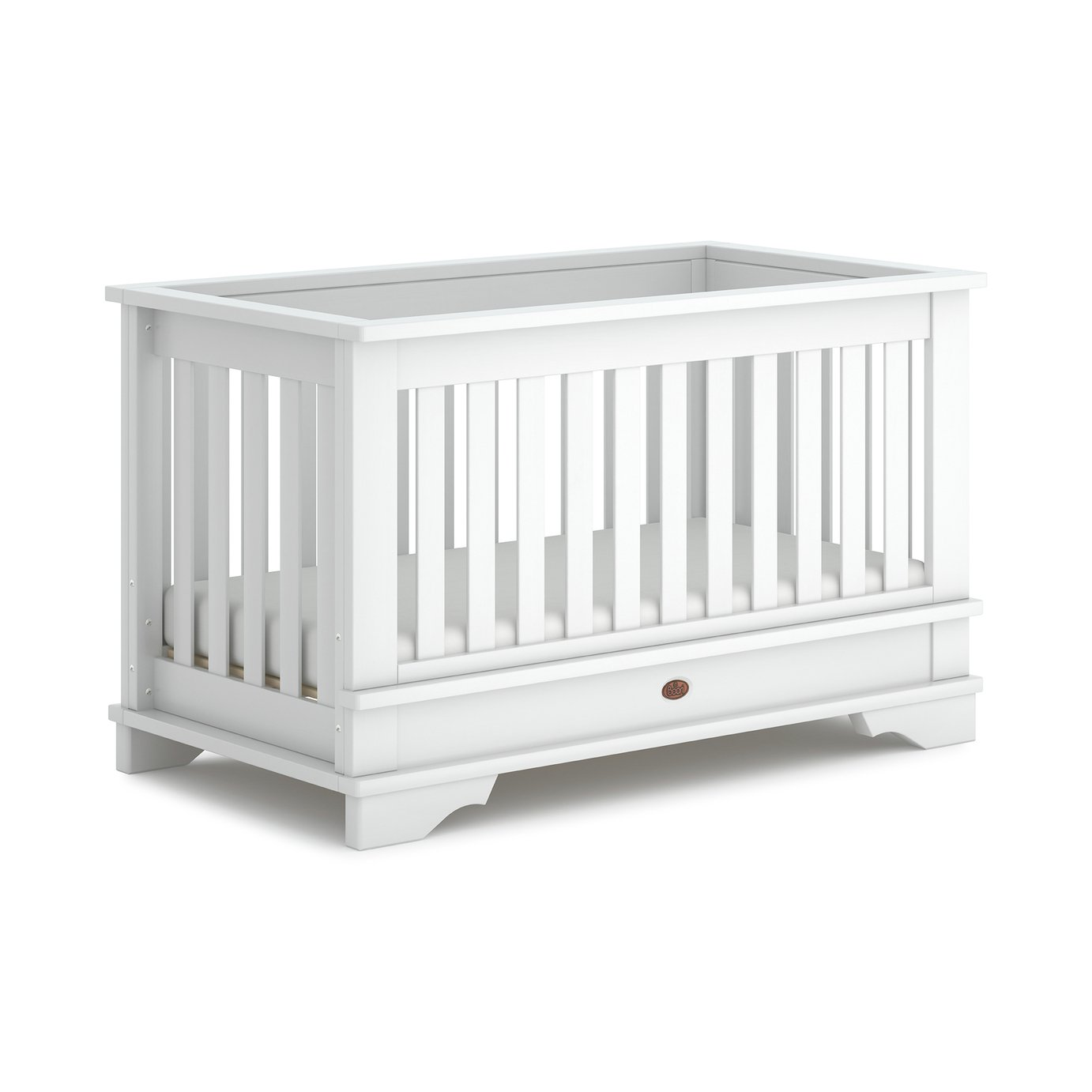 Boori Eton Convertible Plus Cot Bed - White