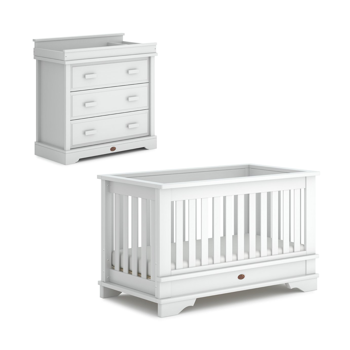 Boori Eton Convertible Plus 2 Piece Set - White