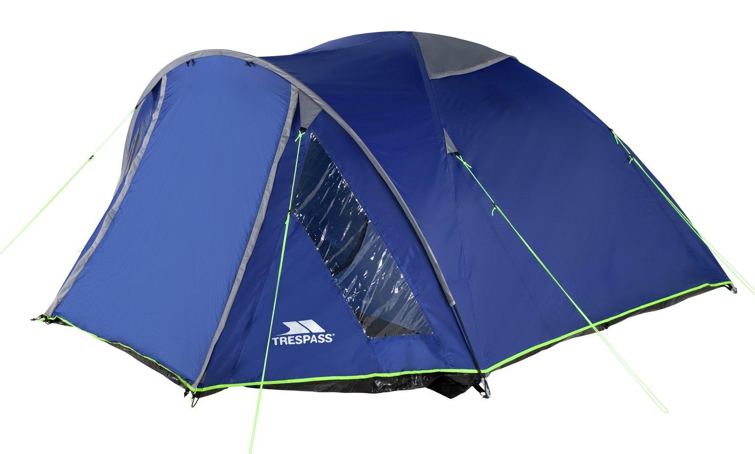Trespass Go Further 6 Man Carpeted Tent