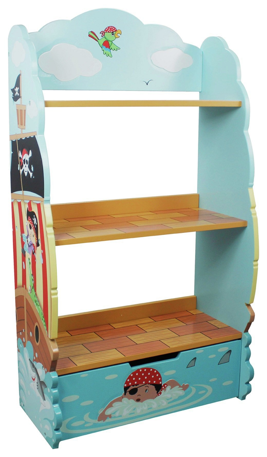 Image of Fantasy Fields Pirate Bookcase.
