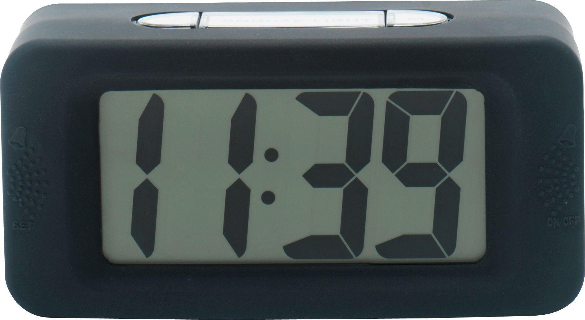 Image of Acctim Black LCD Alarm Clock