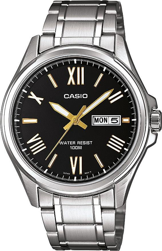 buy seiko men s watches at argos co uk your online shop for casio men s classic day and date bracelet watch