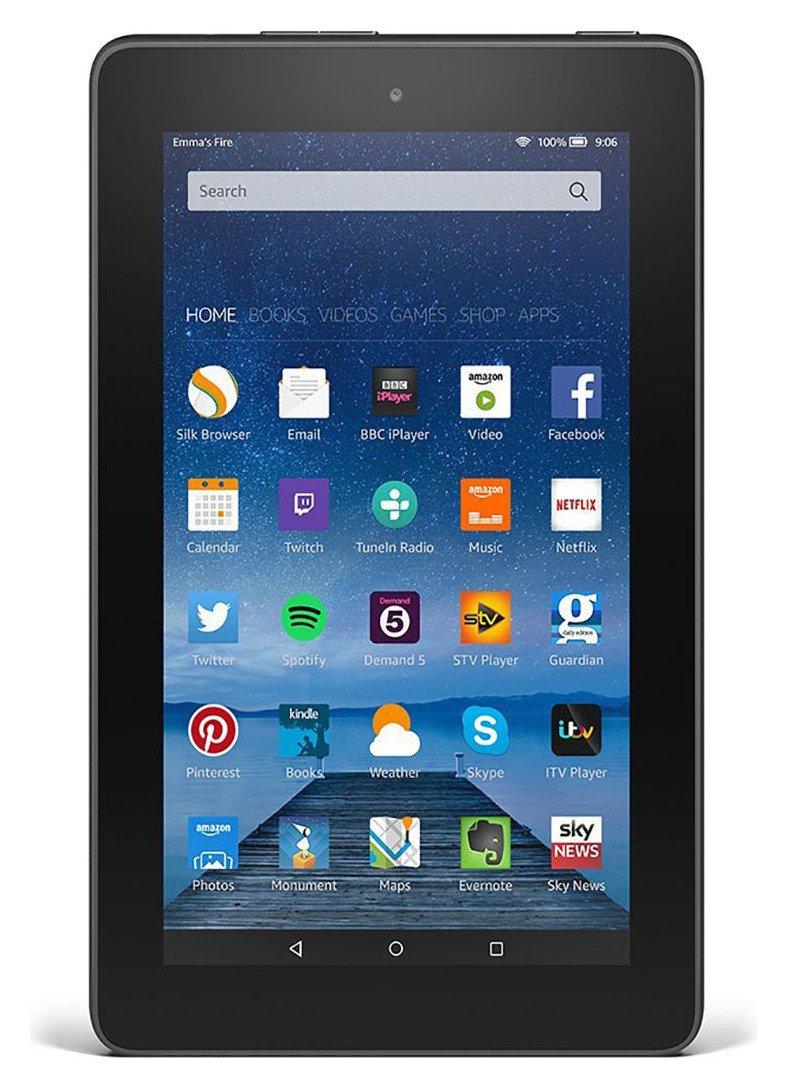 Amazon Fire Amazon Fire 7 Inch 8 GB Tablet - Black.