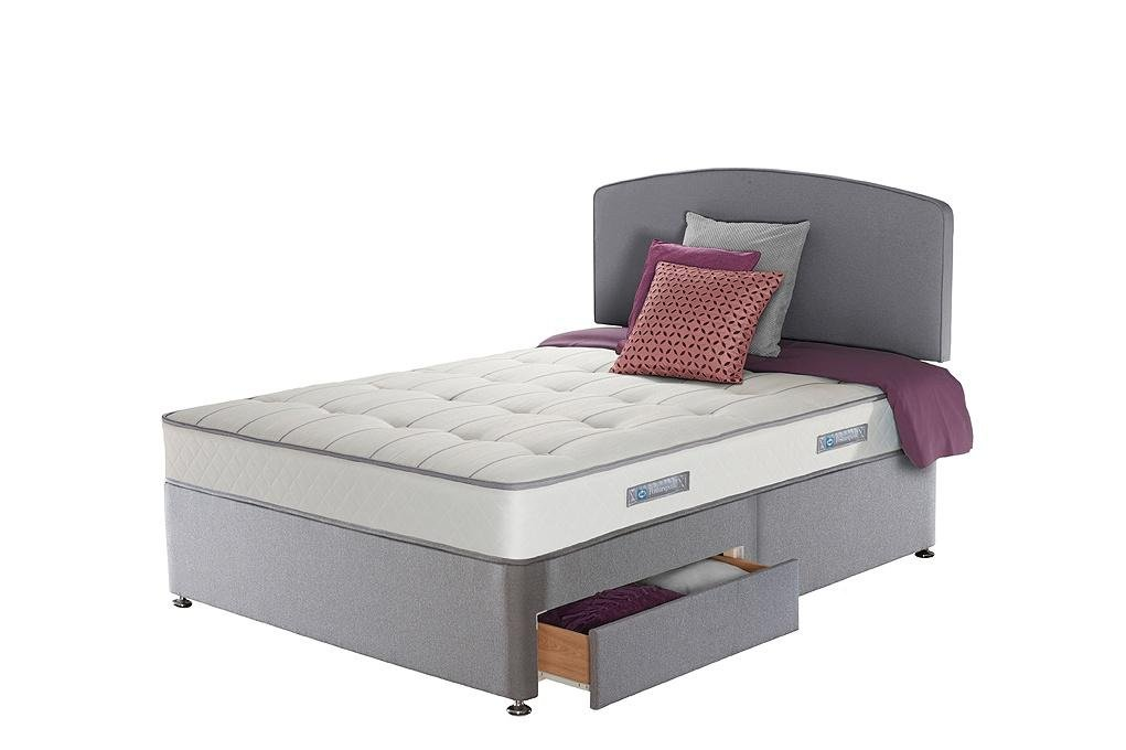 Sealy Posturepedic Firm Ortho Memory Double 2 Drw Divan Bed Review