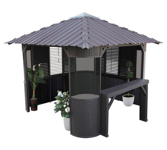 Hot tub gazebos canada minimalist for Spa gazebos