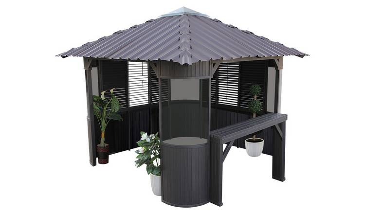 Canadian Spa Frazer Synthetic Hot Tub Gazebo Enclosure