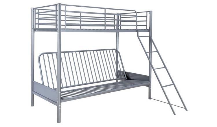 Buy Argos Home Metal Bunk Bed Blue Futon Kids Mattress Kids Beds Argos