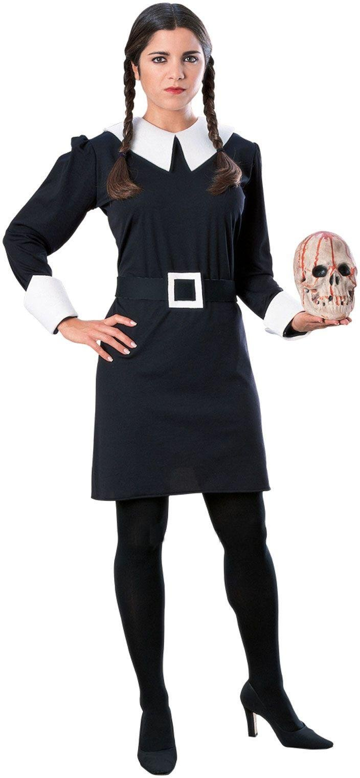 Image of Addams Family Wednesday Costume - Size 8-10.